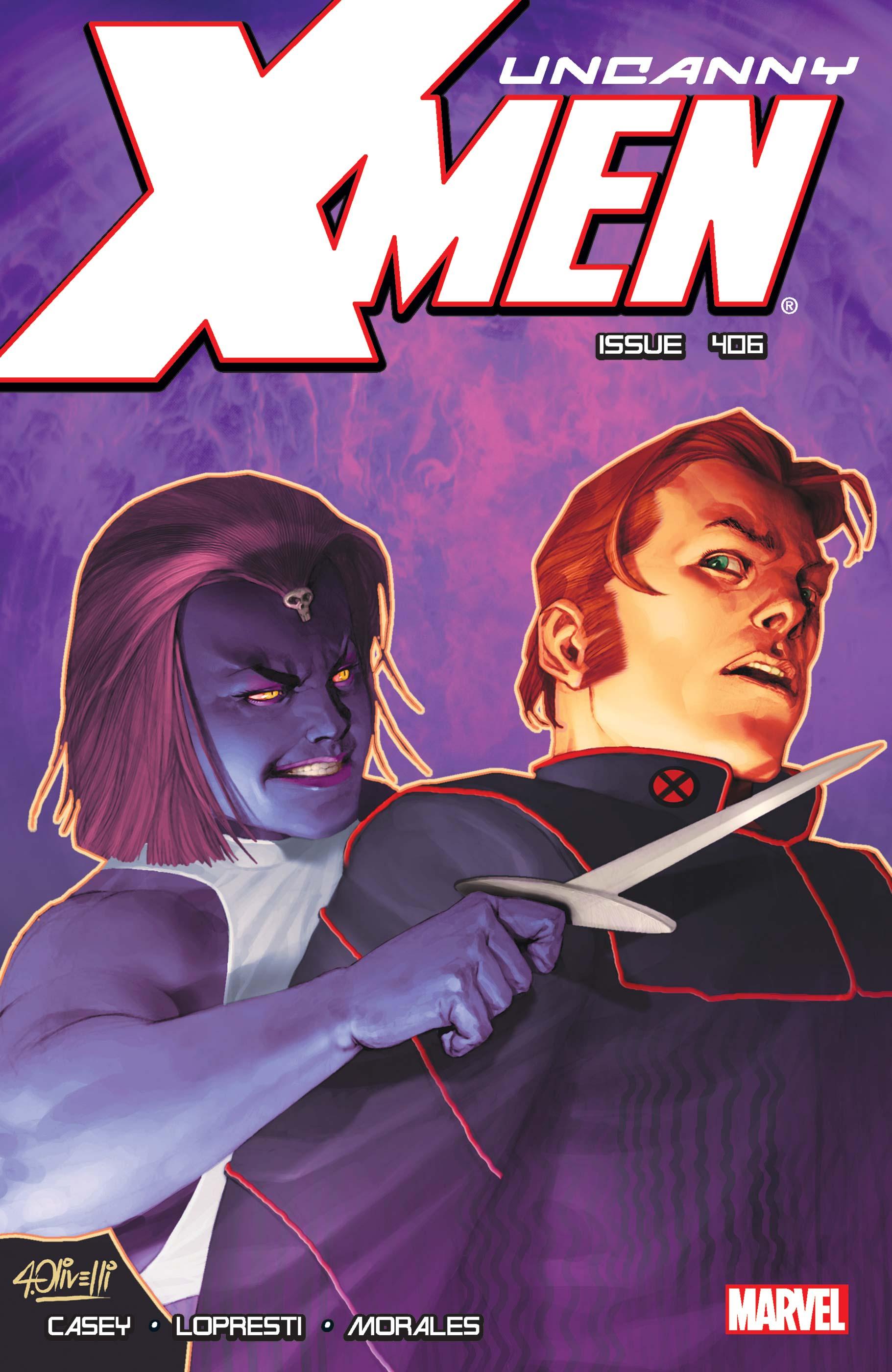 Uncanny X-Men (1963) #406