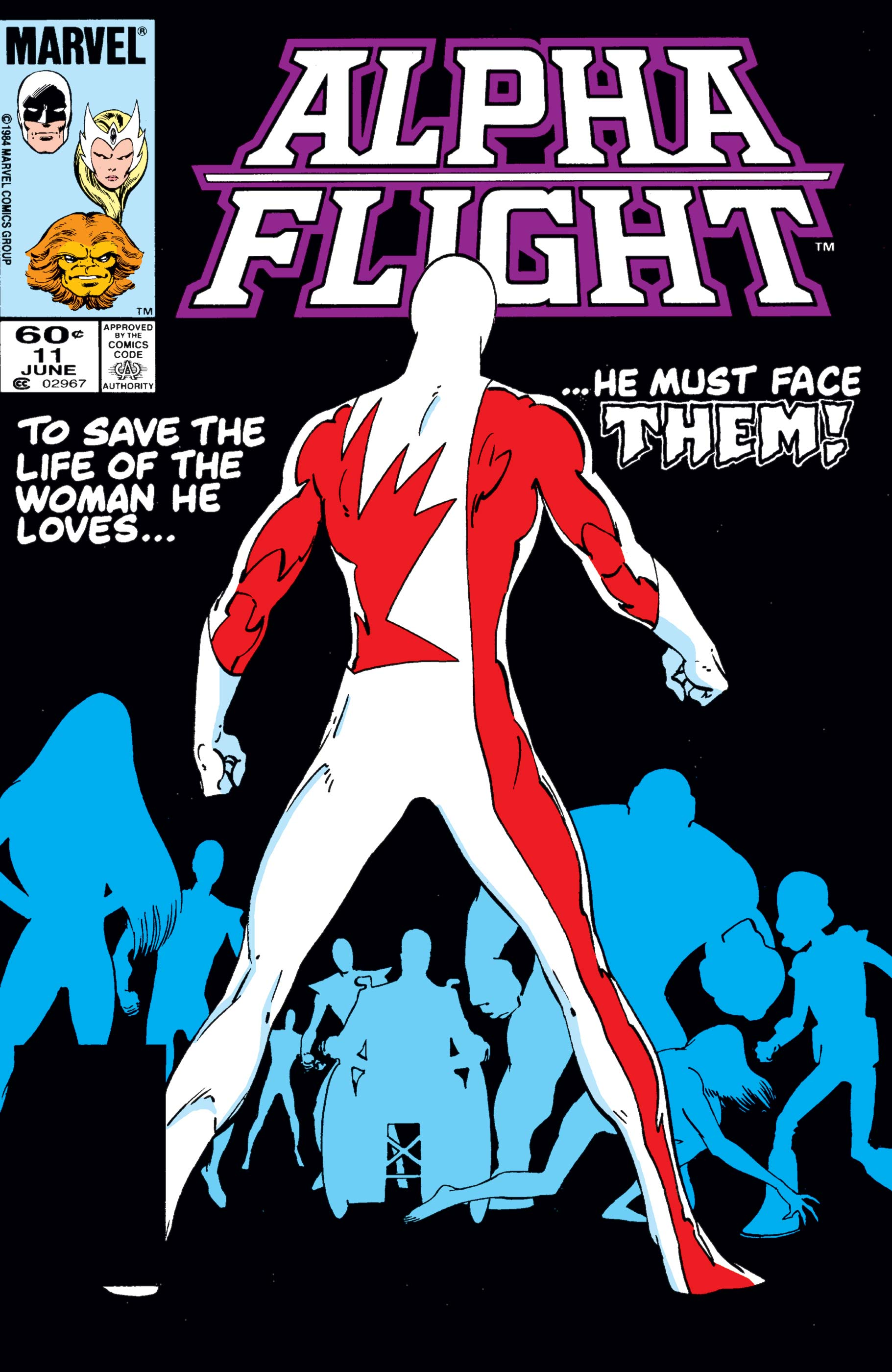 Alpha Flight (1983) #11