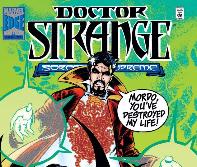 Cover for DOCTOR STRANGE, SORCERER SUPREME 85