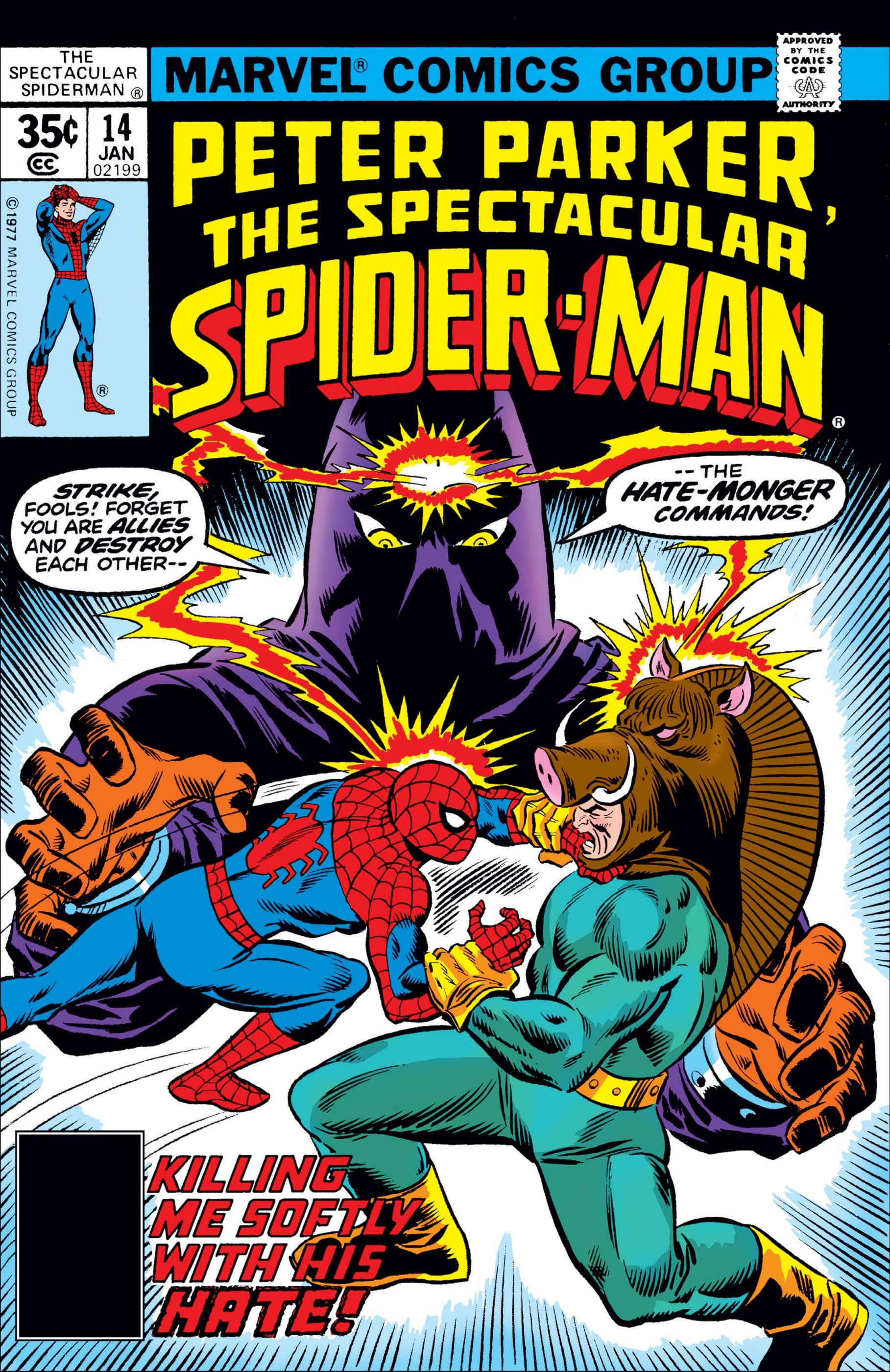 Peter Parker, the Spectacular Spider-Man (1976) #14