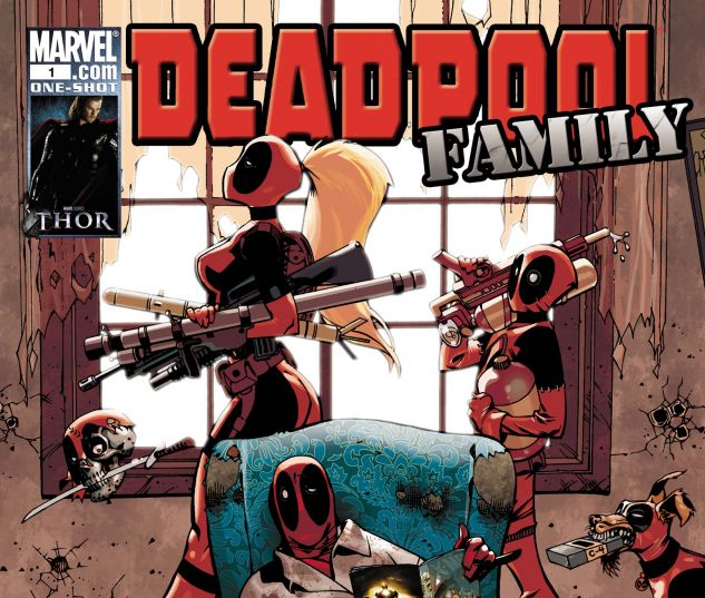 DEADPOOL FAMILY (2010) #1
