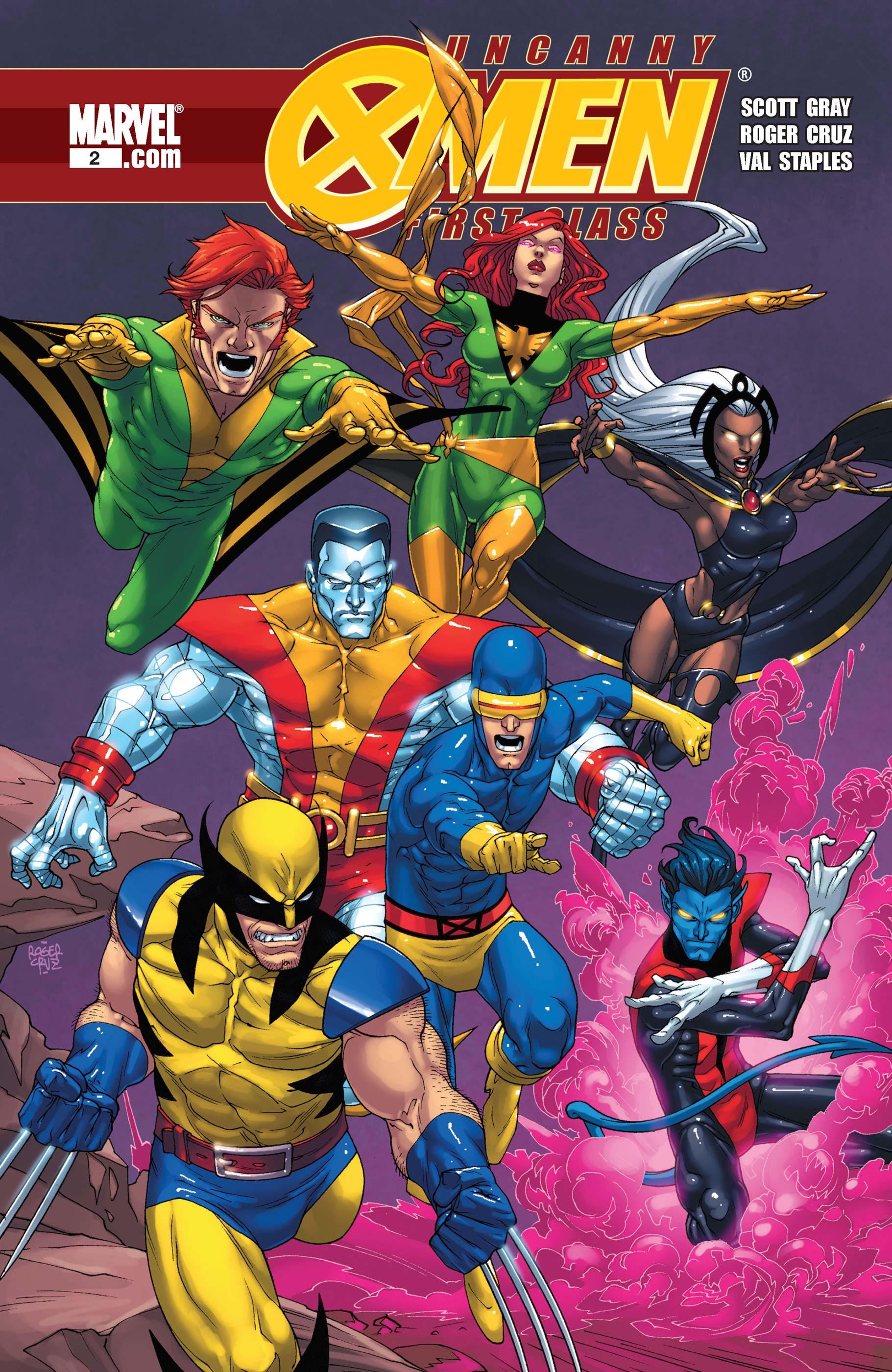 Uncanny X-Men: First Class (2009) #2