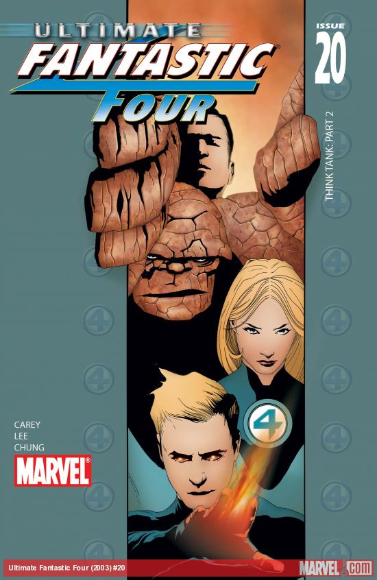 Ultimate Fantastic Four Vol. 4: Inhuman (Trade Paperback)