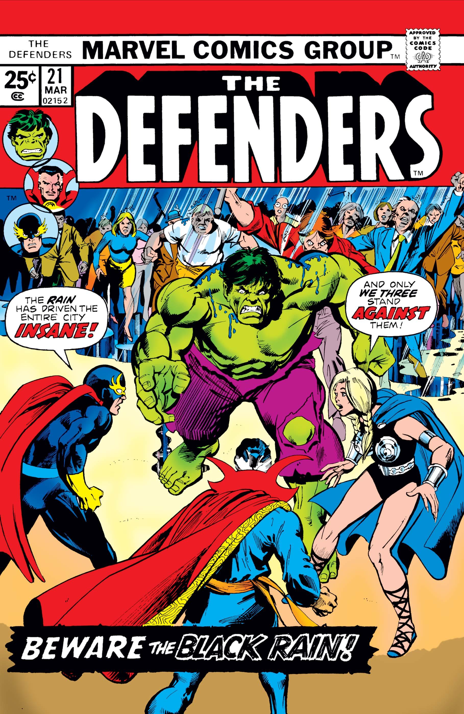 Defenders (1972) #21