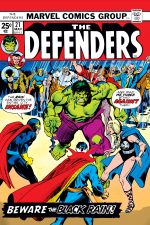 Defenders (1972) #21 cover