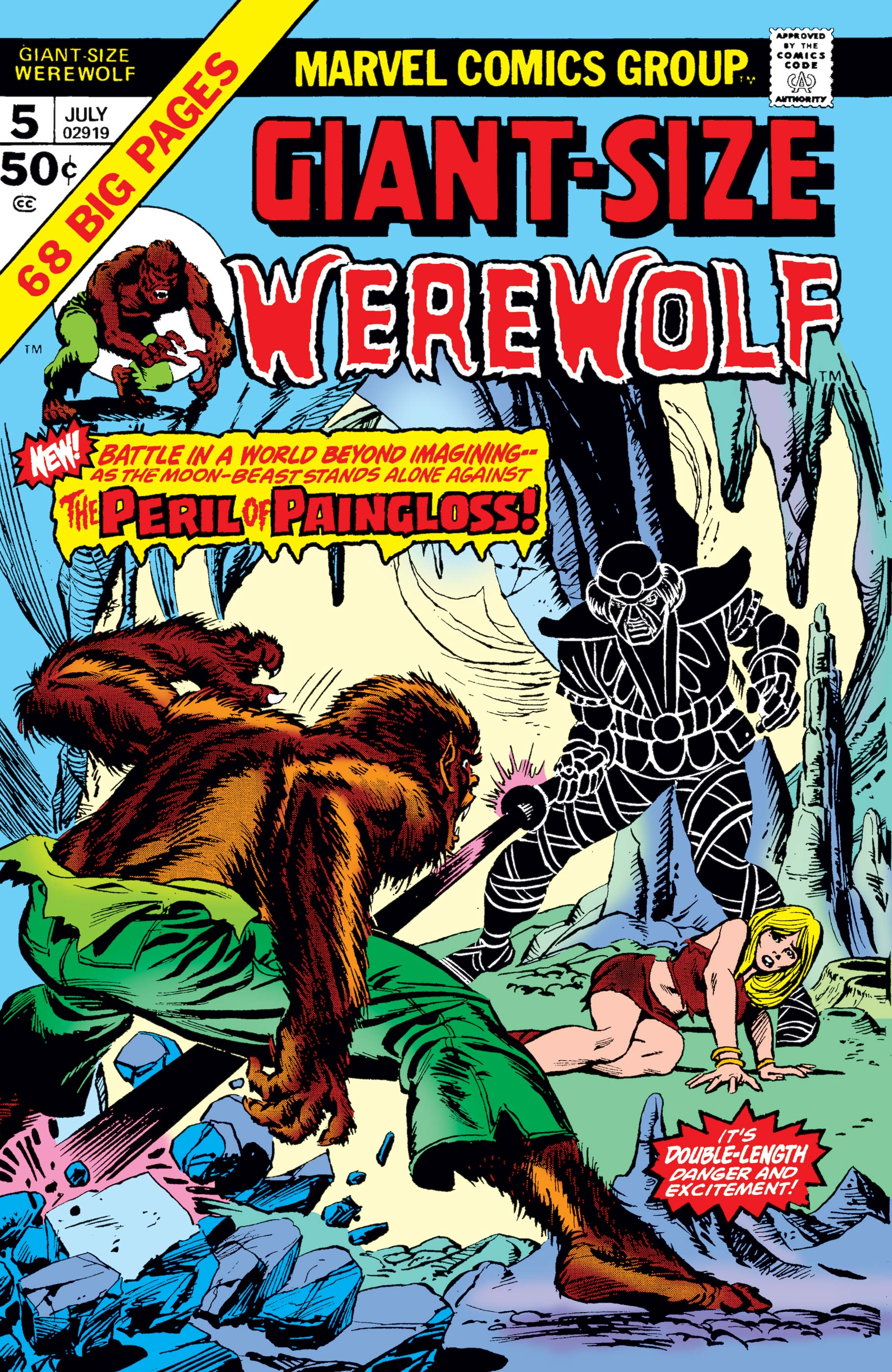 Giant-Size Werewolf by Night (1974) #5