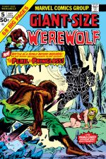 Giant-Size Werewolf by Night (1974) #5 cover
