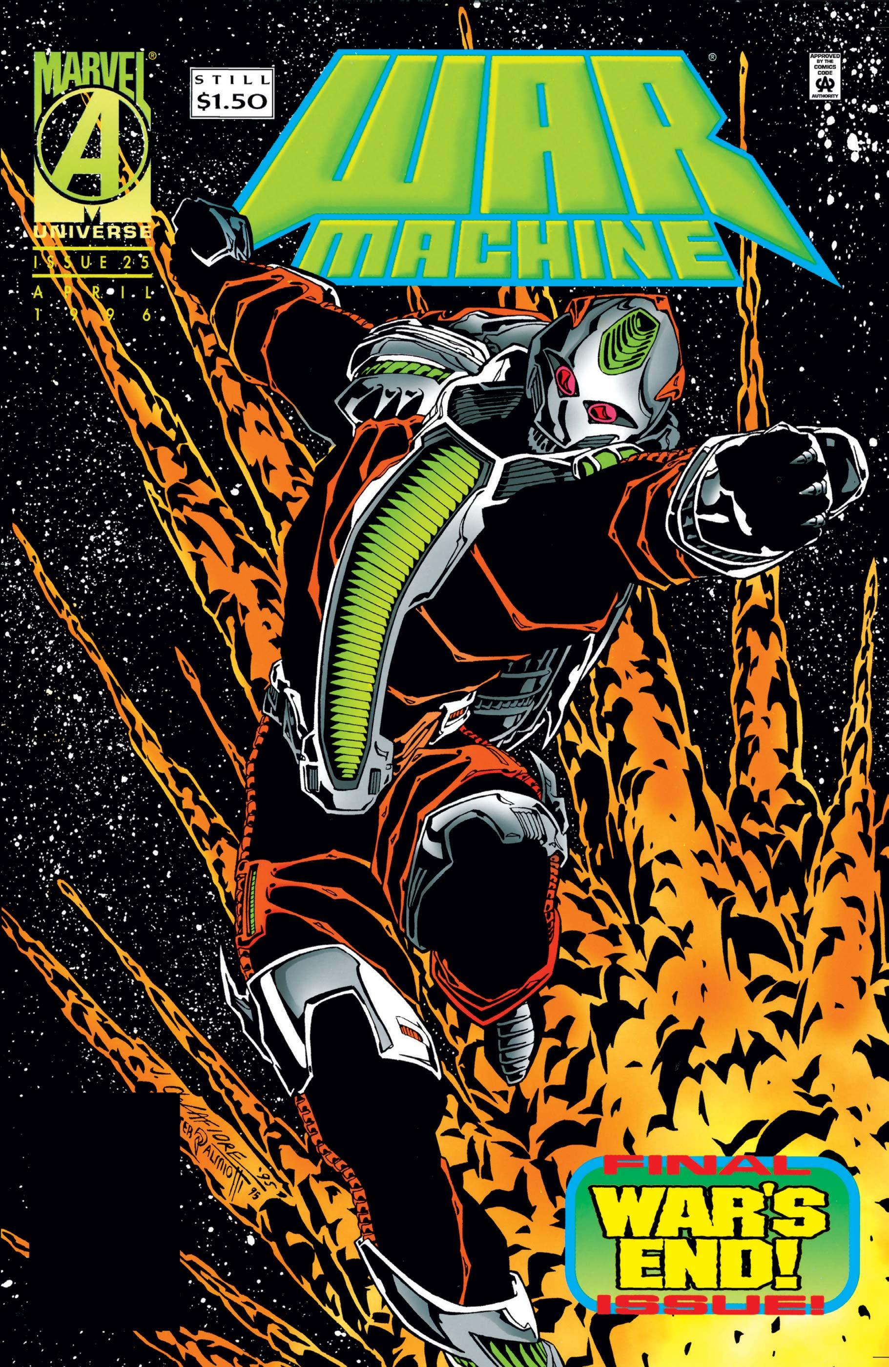 War Machine (1994) #25