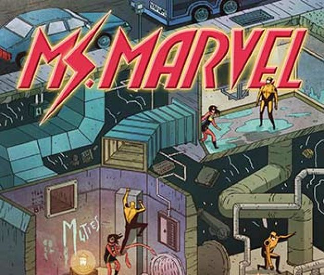 cover from Ms. Marvel Vol. 1 Kids Infinite Comic (2018) #4
