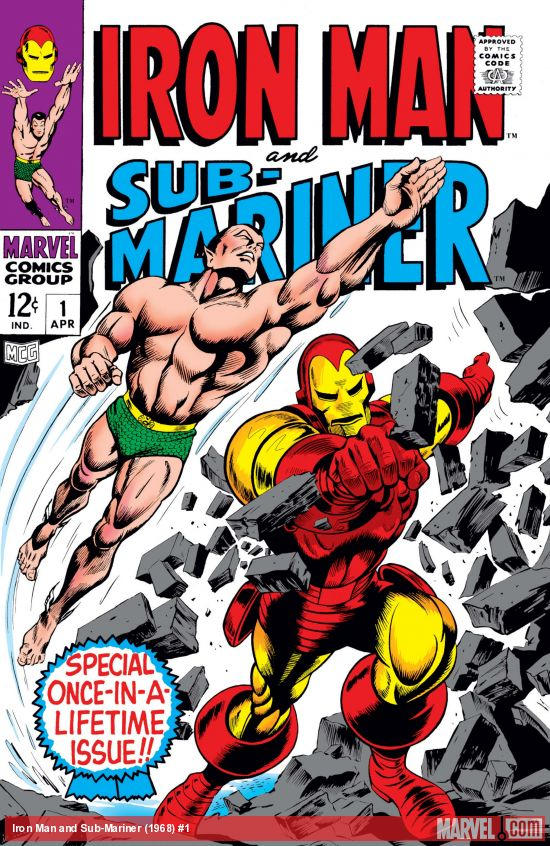 Iron Man and Sub-Mariner (1968) #1