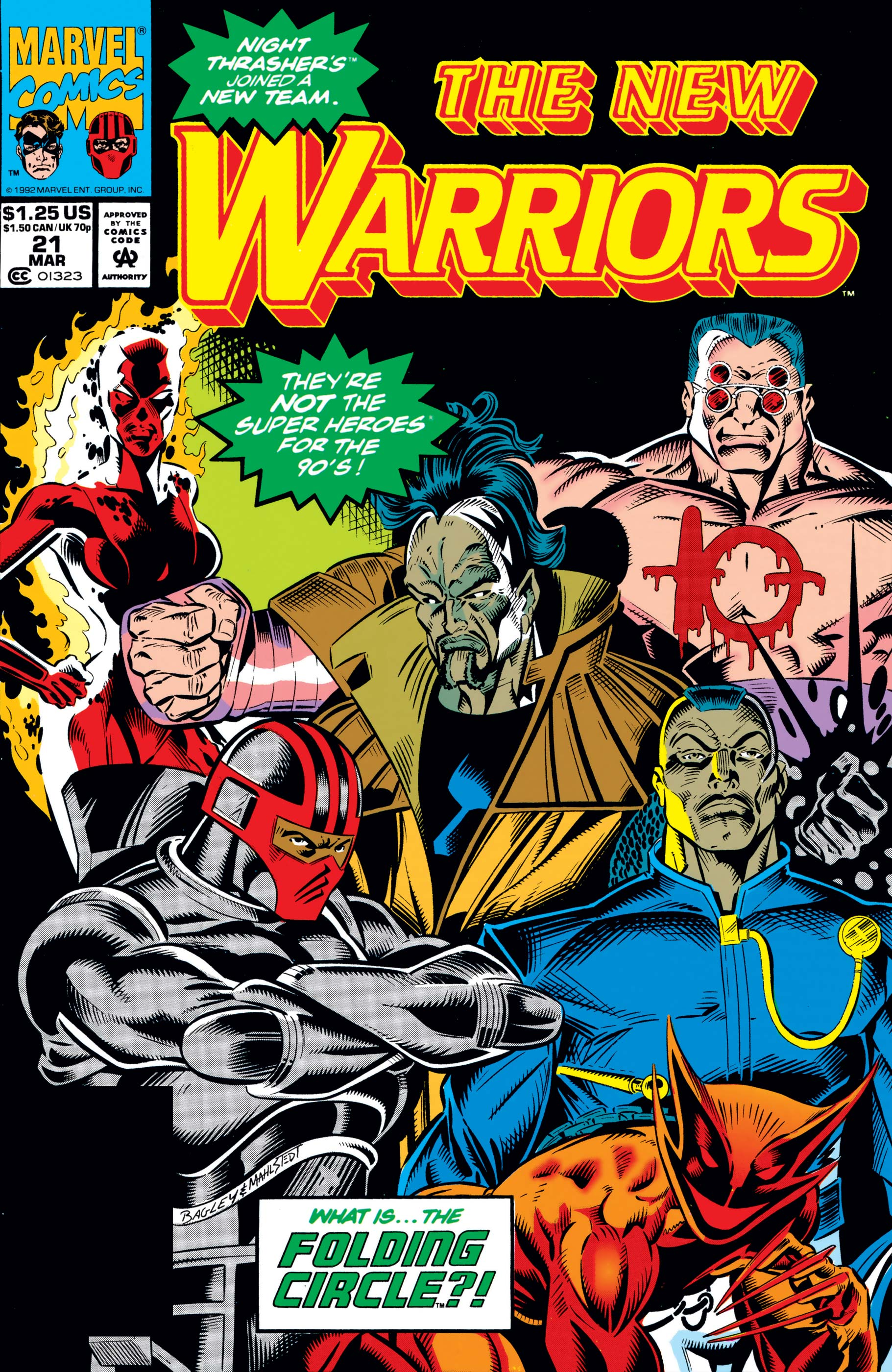 New Warriors (1990) #21