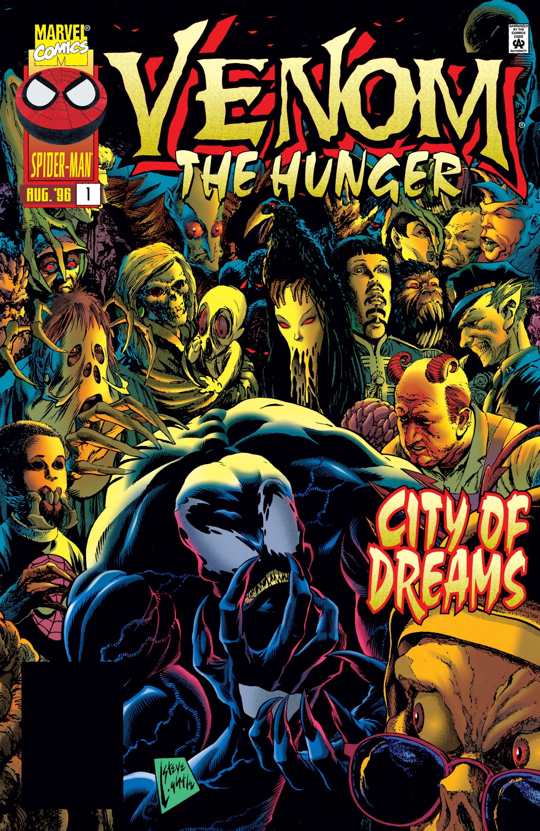 Venom: The Hunger (1996) #1