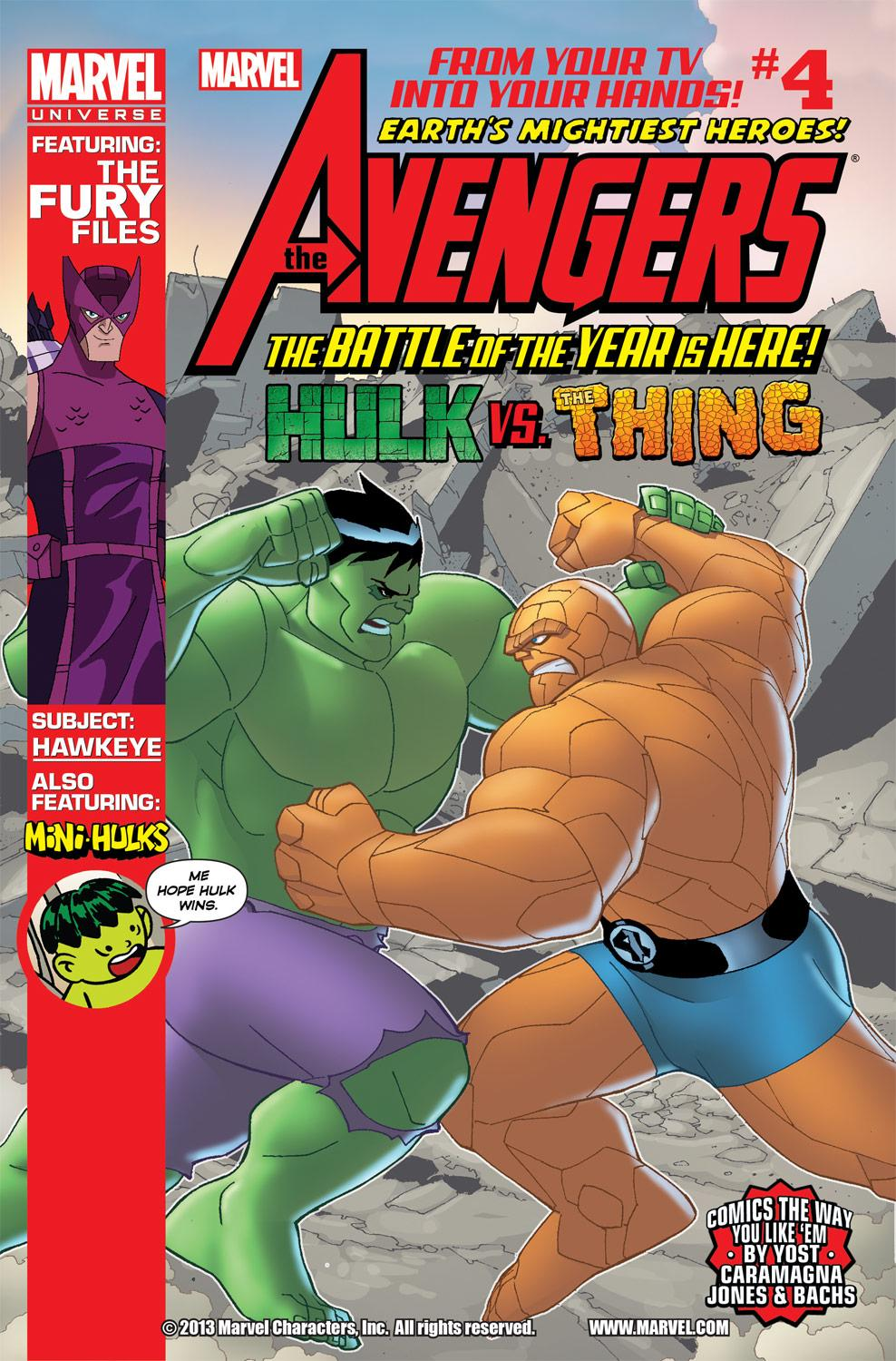Marvel Universe Avengers: Earth's Mightiest Heroes (2012) #4