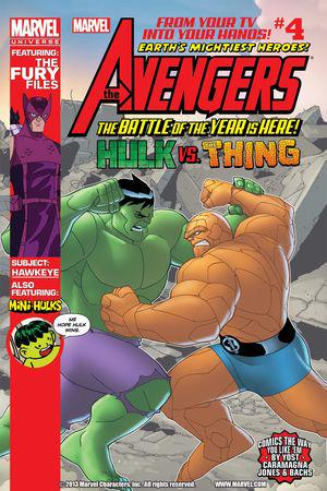 Marvel Universe Avengers: Earth's Mightiest Heroes #4
