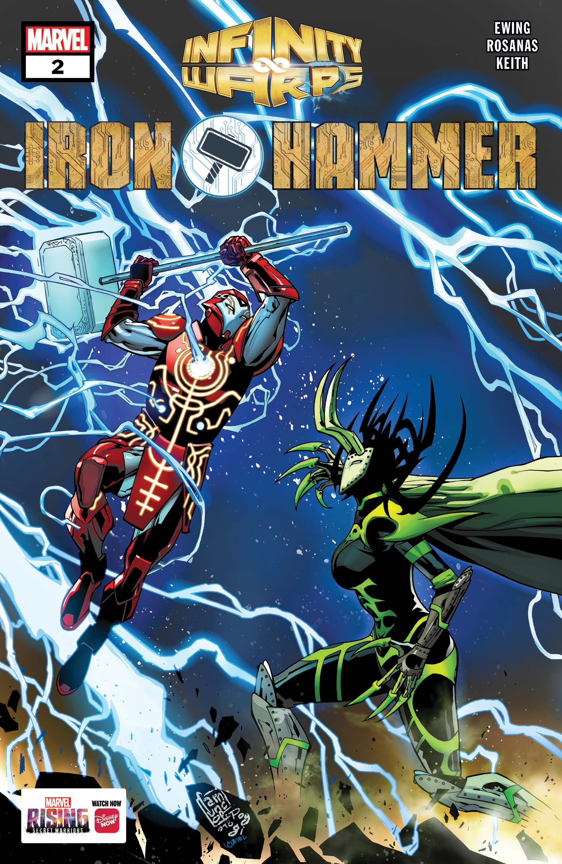 Infinity Wars: Iron Hammer (2018) #2