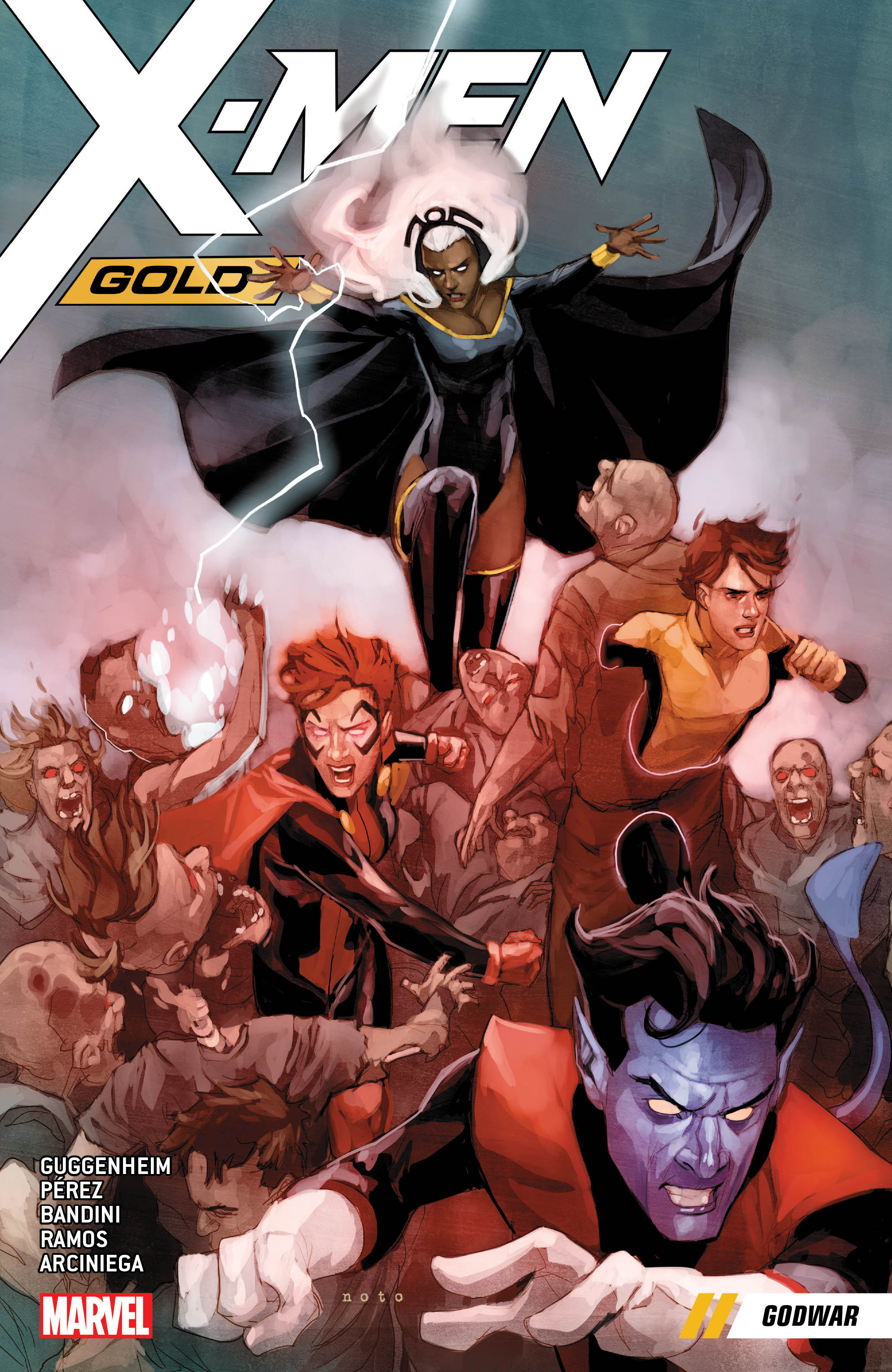 X-Men Gold Vol. 7: Godwar (Trade Paperback)