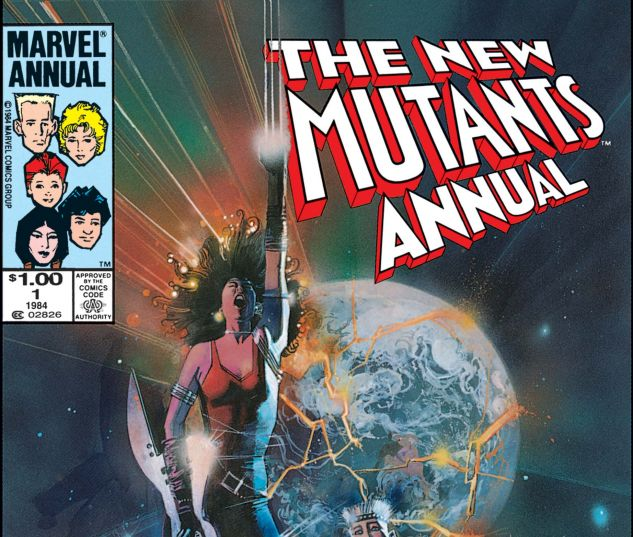 New Mutants Annual (1984) #1