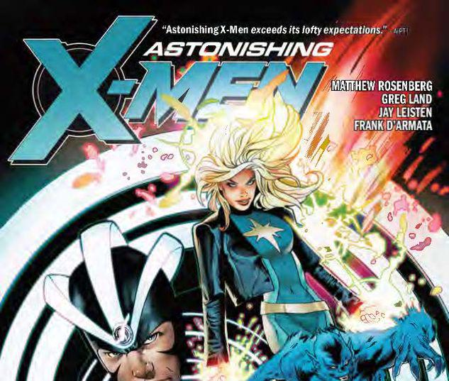 ASTONISHING X-MEN BY MATTHEW ROSENBERG: UNTIL OUR HEARTS STOP TPB #1
