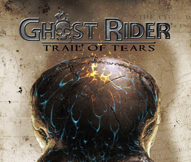 Ghost Rider Trail of Tears #2 Marvel Comics 2007 NM Garth Ennis Clayton Crain