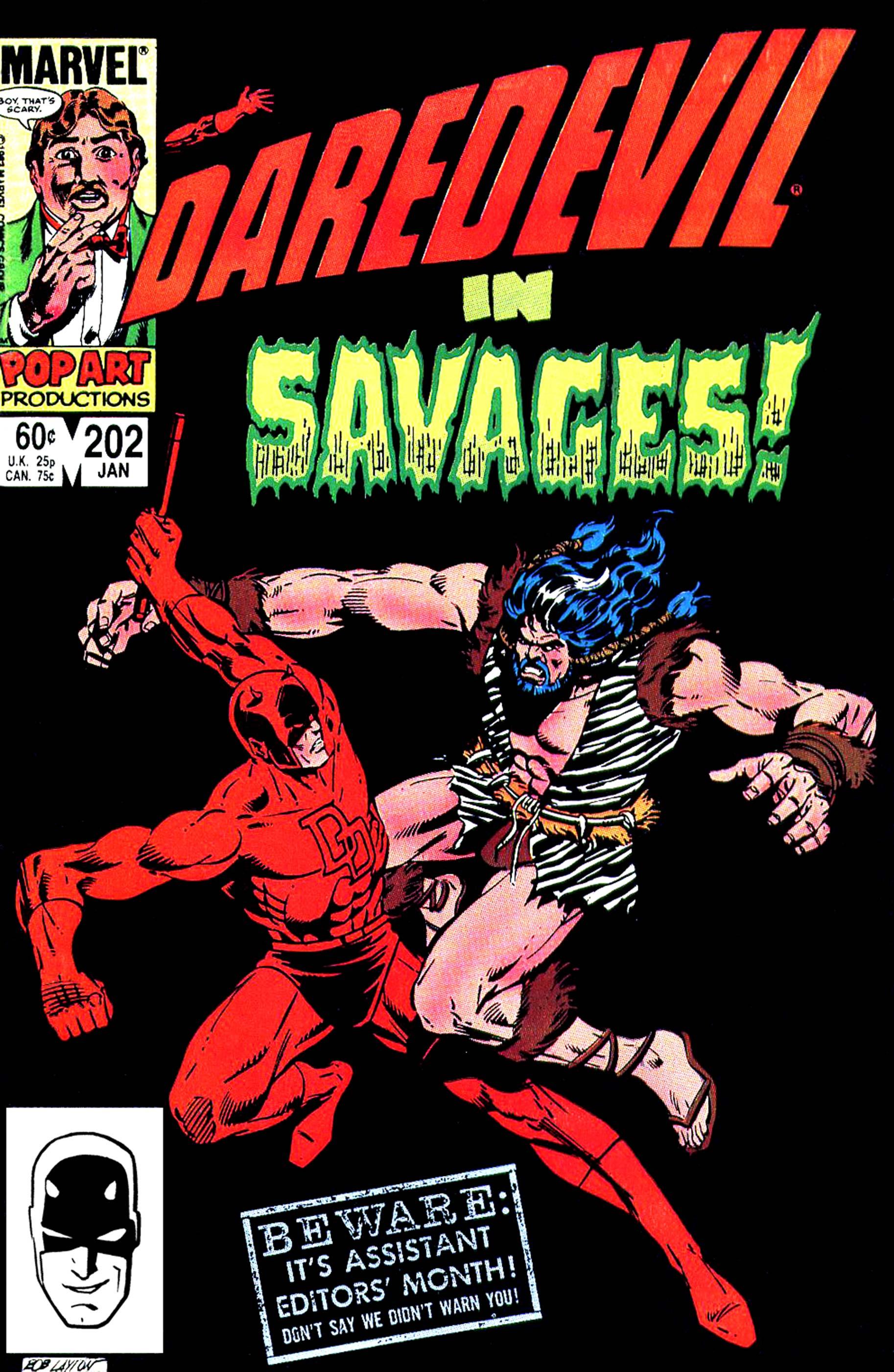 Daredevil (1964) #202