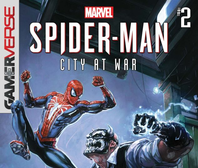cover from Gamerverse Spider-Man: City at War (2019) #2