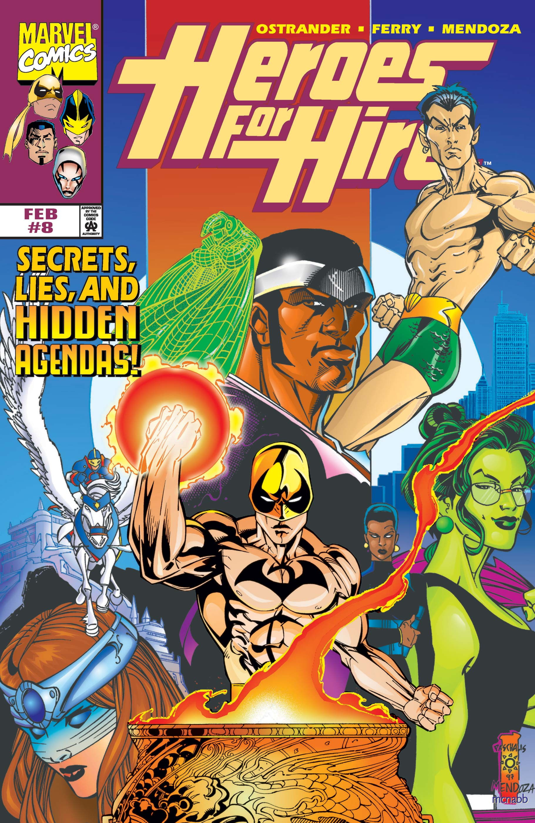 Heroes for Hire (1997) #8
