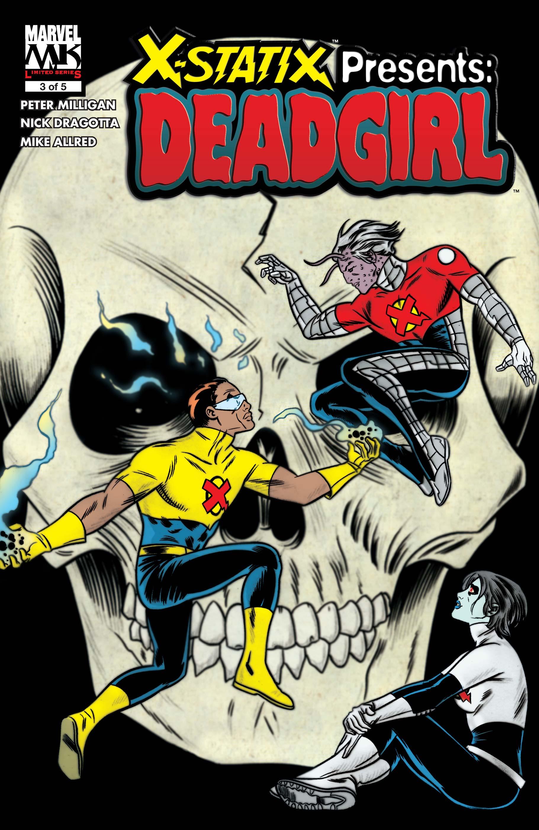 X-Statix Presents: Dead Girl (2006) #3
