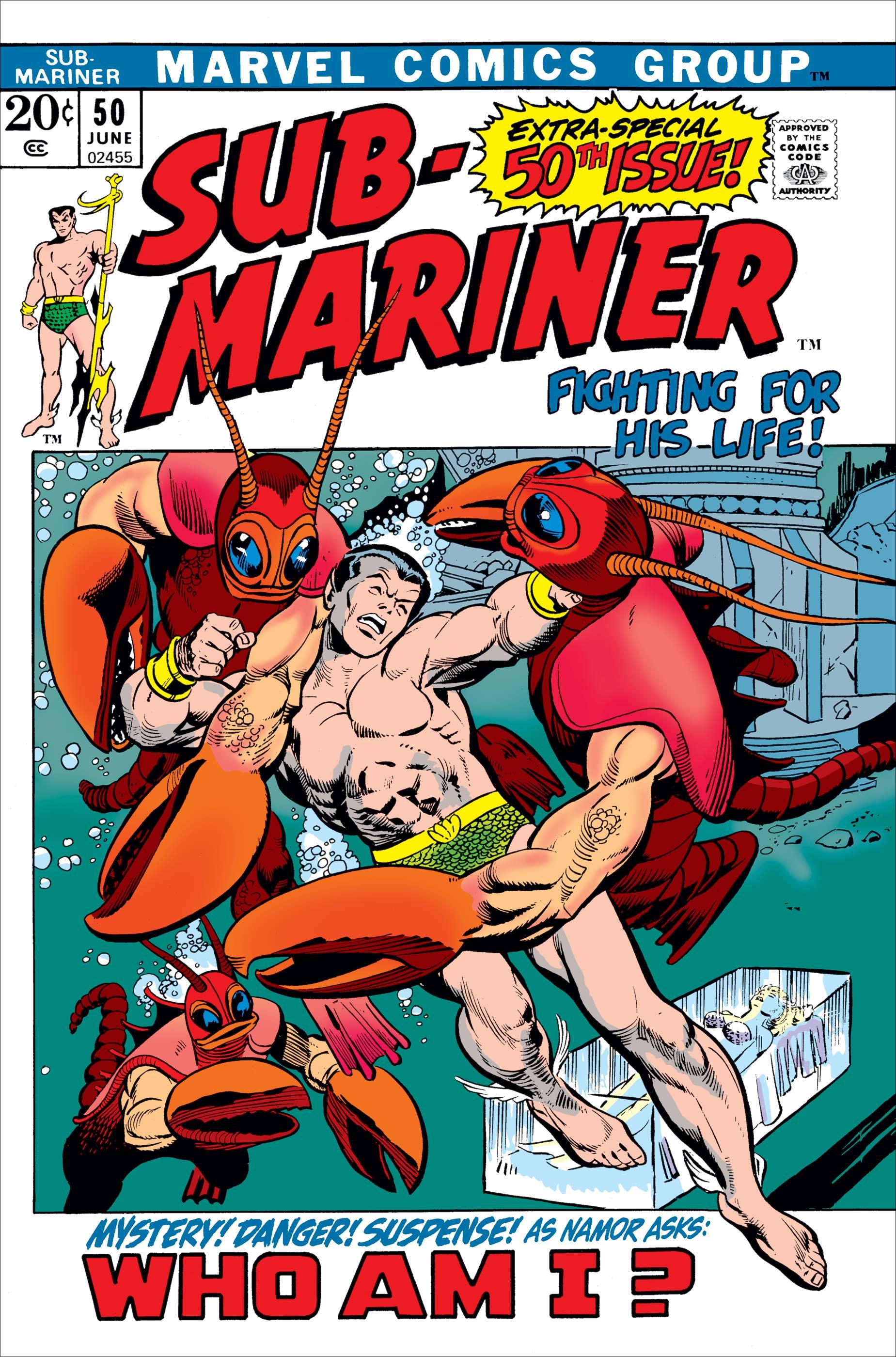 Sub-Mariner (1968) #50
