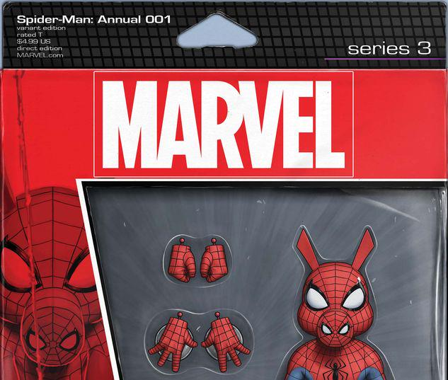SPIDER-MAN ANNUAL 1 CHRISTOPHER ACTION FIGURE VARIANT #1