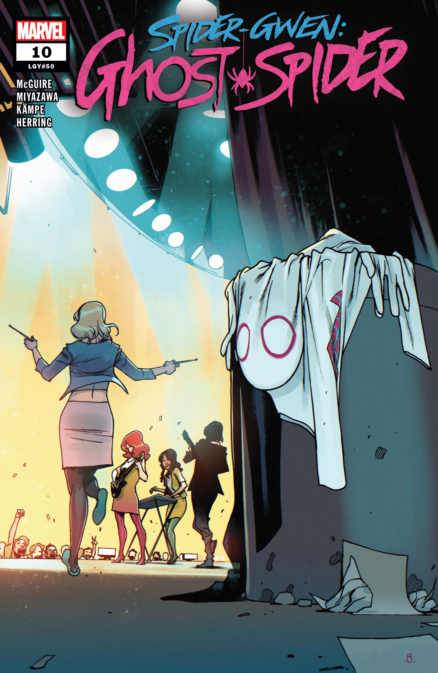 Spider-Gwen: Ghost-Spider (2018) #10