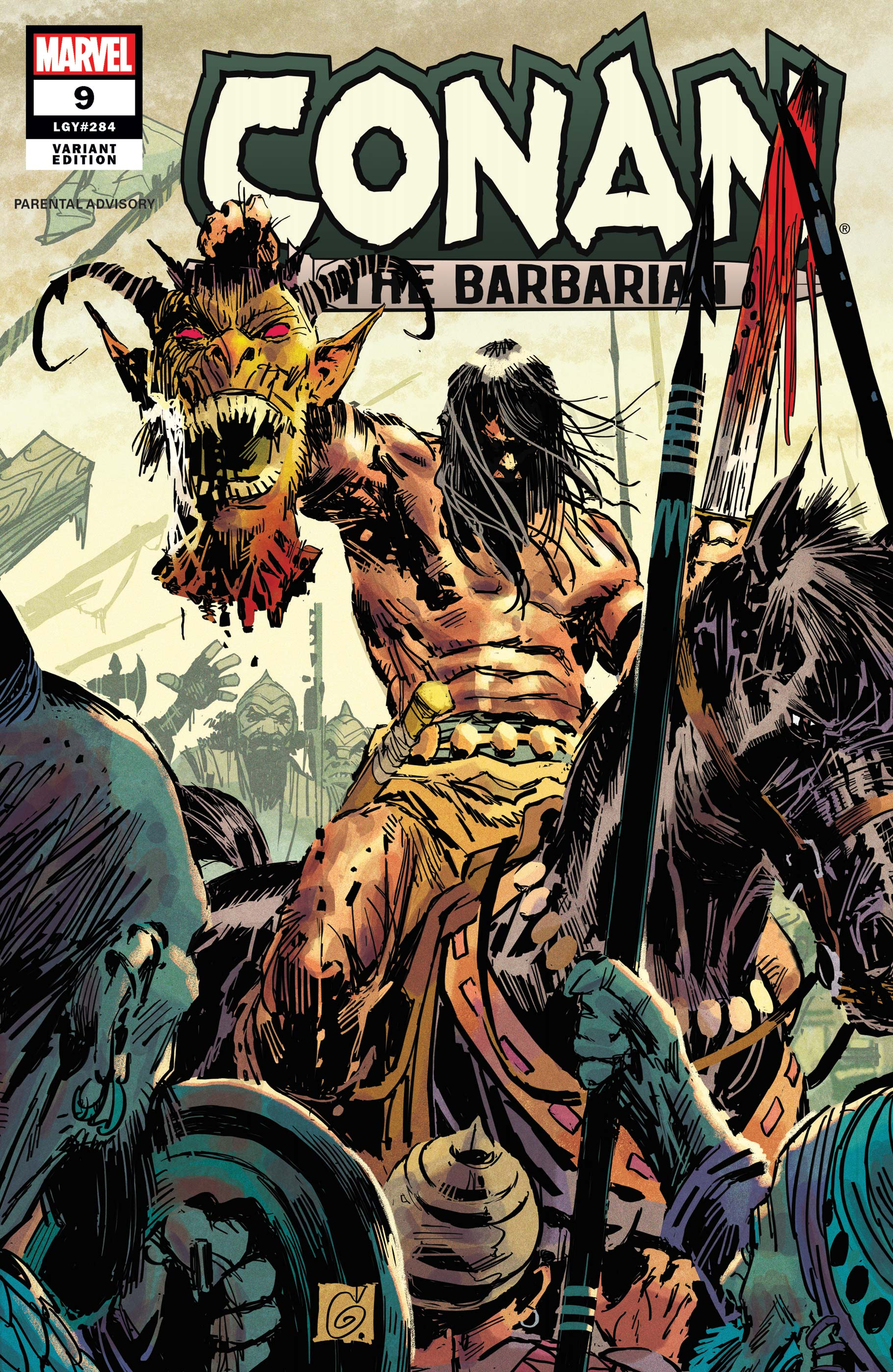 Conan the Barbarian (2019) #9 (Variant)