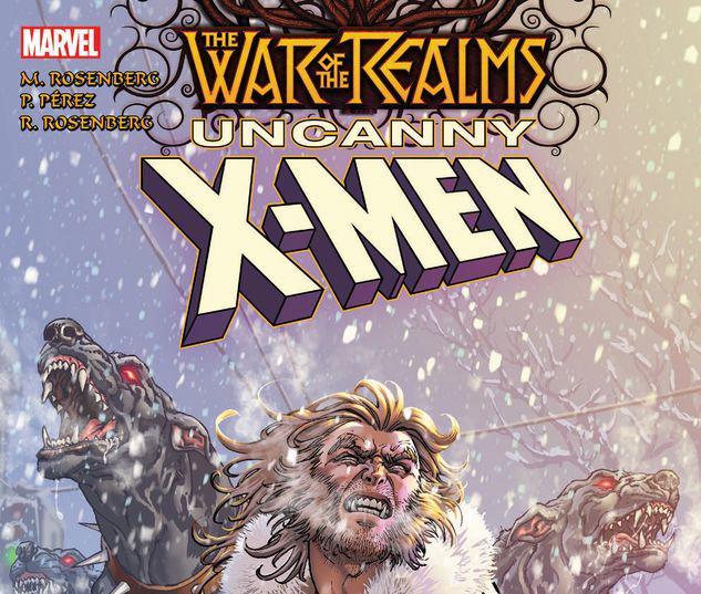 WAR OF THE REALMS: UNCANNY X-MEN TPB #1