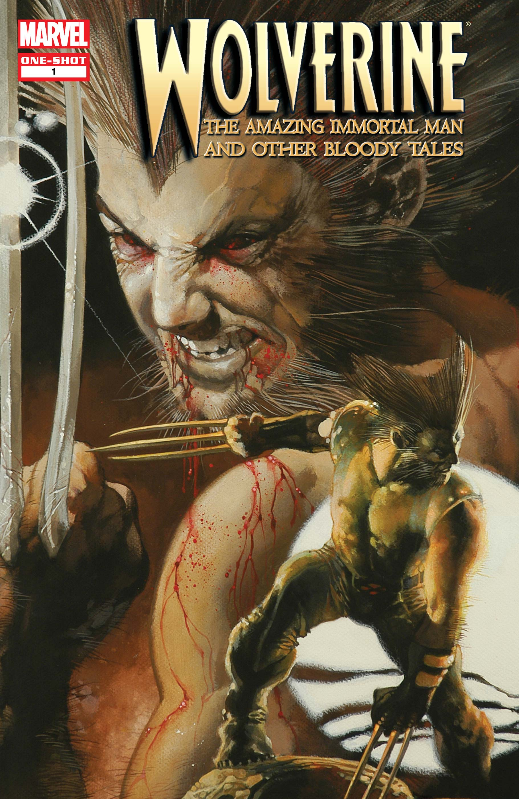 Wolverine: The Amazing Immortal Man & Other Bloody Tales (2008) #1