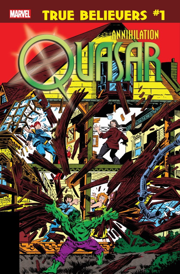 True Believers: Annihilation - Quasar (2019) #1