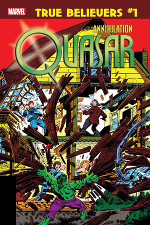 True Believers: Annihilation - Quasar #1