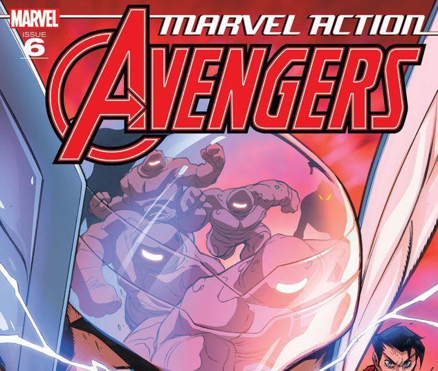 Marvel Action Avengers #6