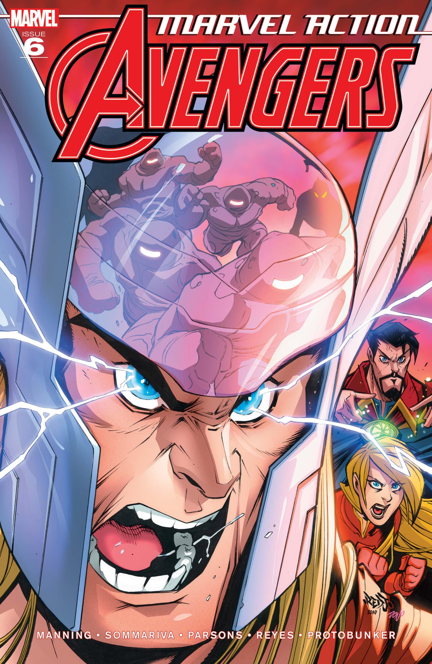 Marvel Action Avengers (2018) #6