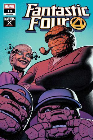 Fantastic Four (2018) #18 (Variant)