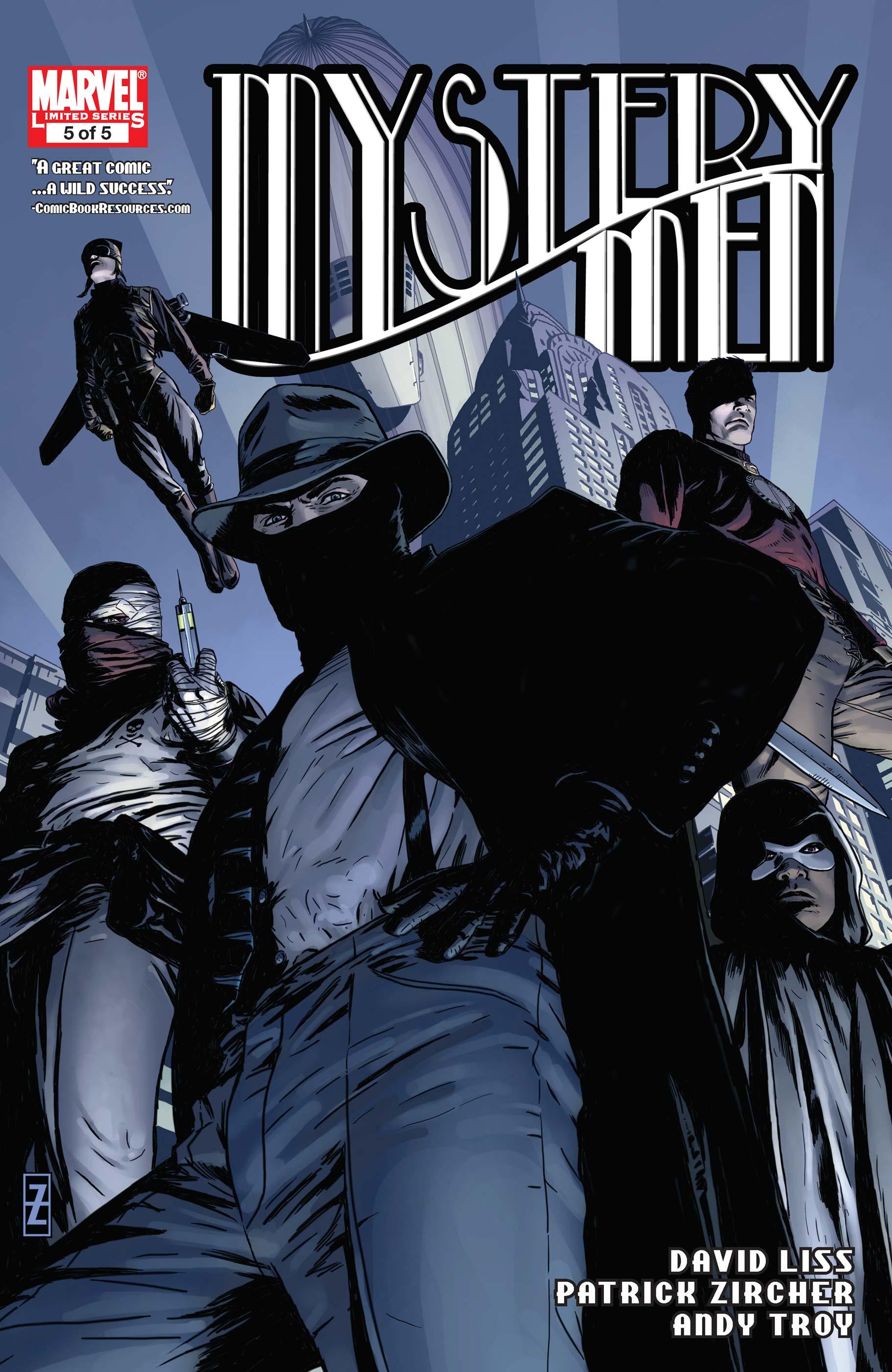 Mystery Men (2011) #5