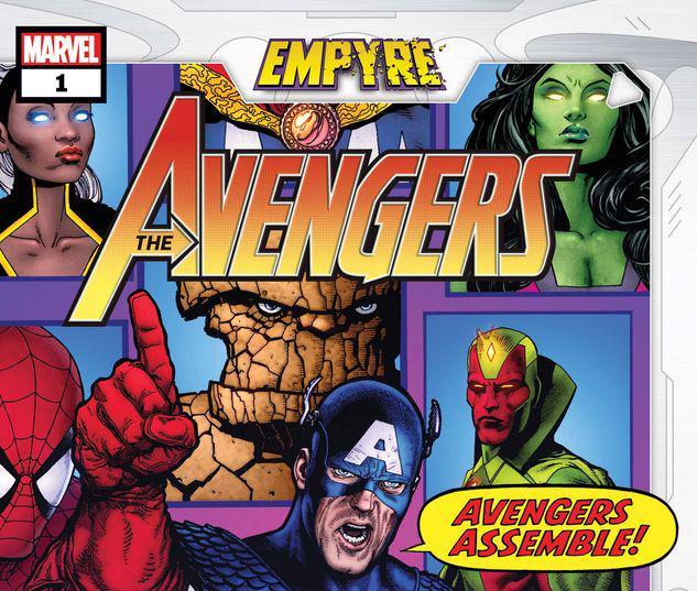 Empyre: Avengers #1
