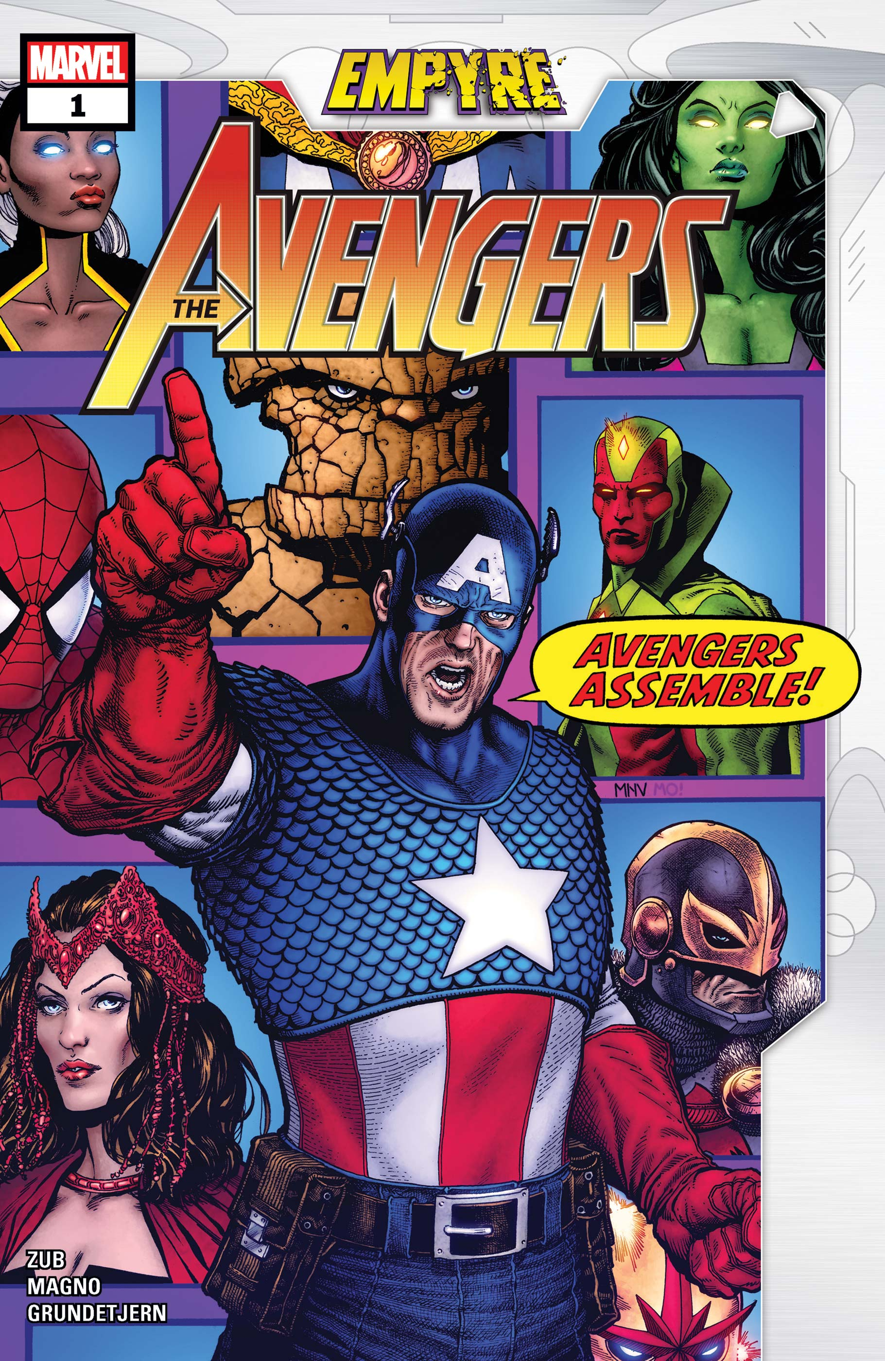 Empyre: Avengers (2020) #1 | Comic Issues | Marvel
