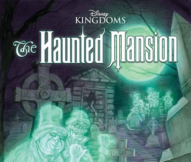 DISNEY KINGDOMS: HAUNTED MANSION GN-TPB #1