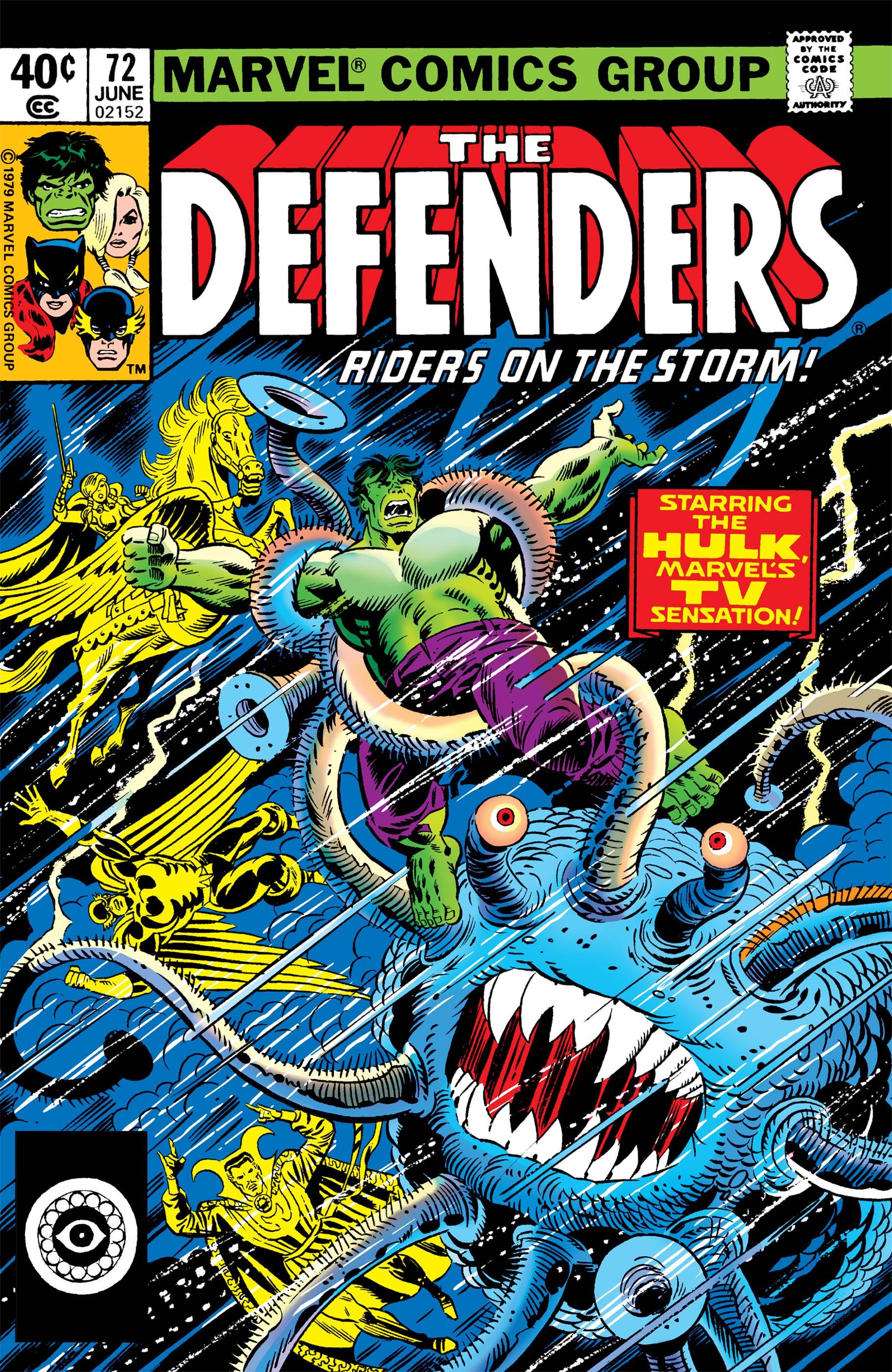 Defenders (1972) #72