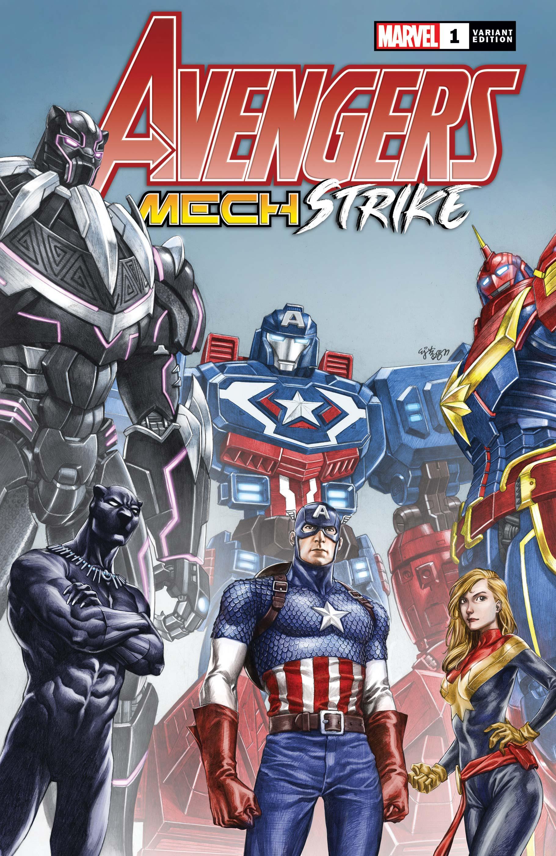 Avengers Mech Strike (2021) #1 (Variant)