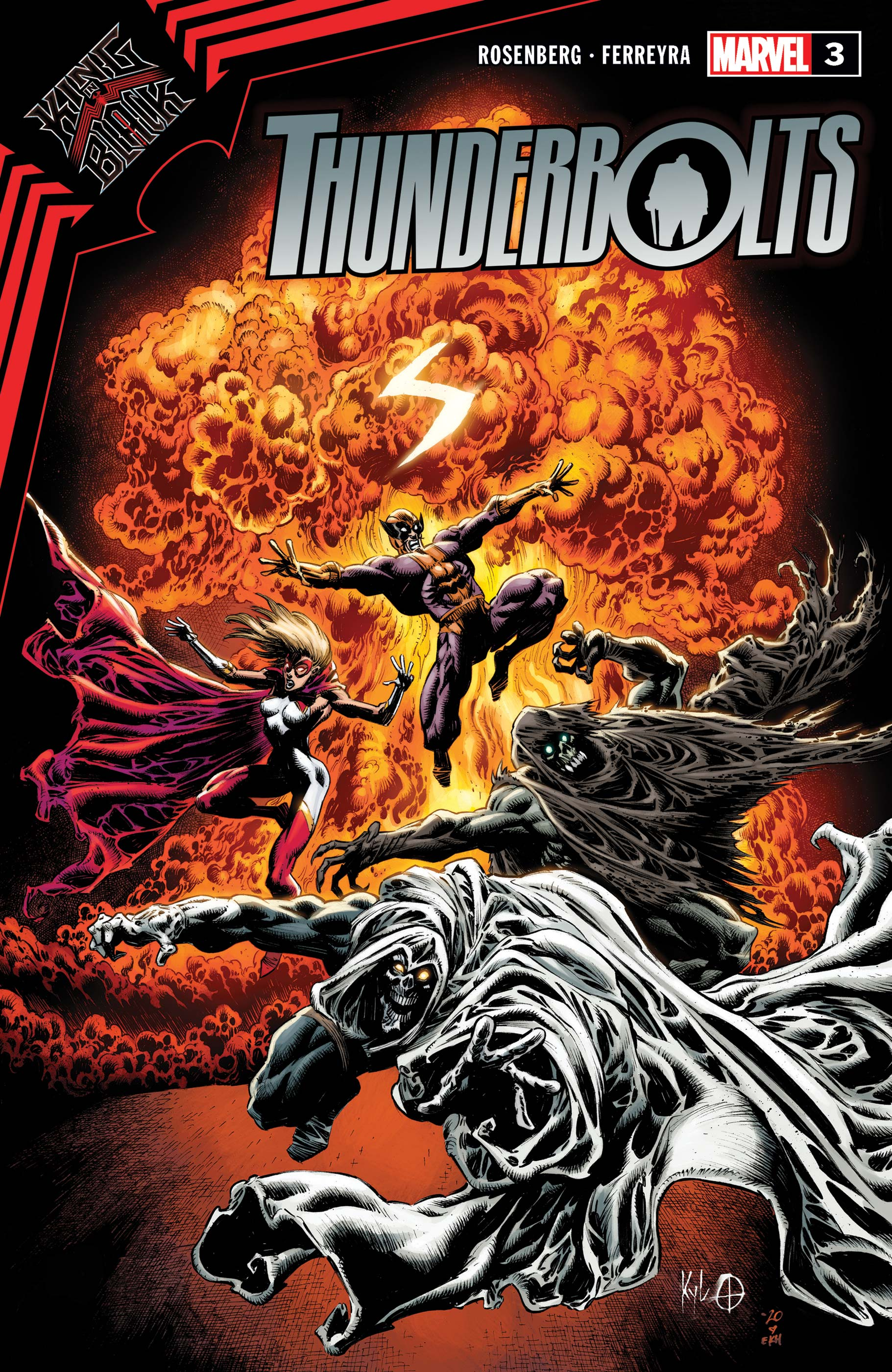 King in Black: Thunderbolts (2021) #3