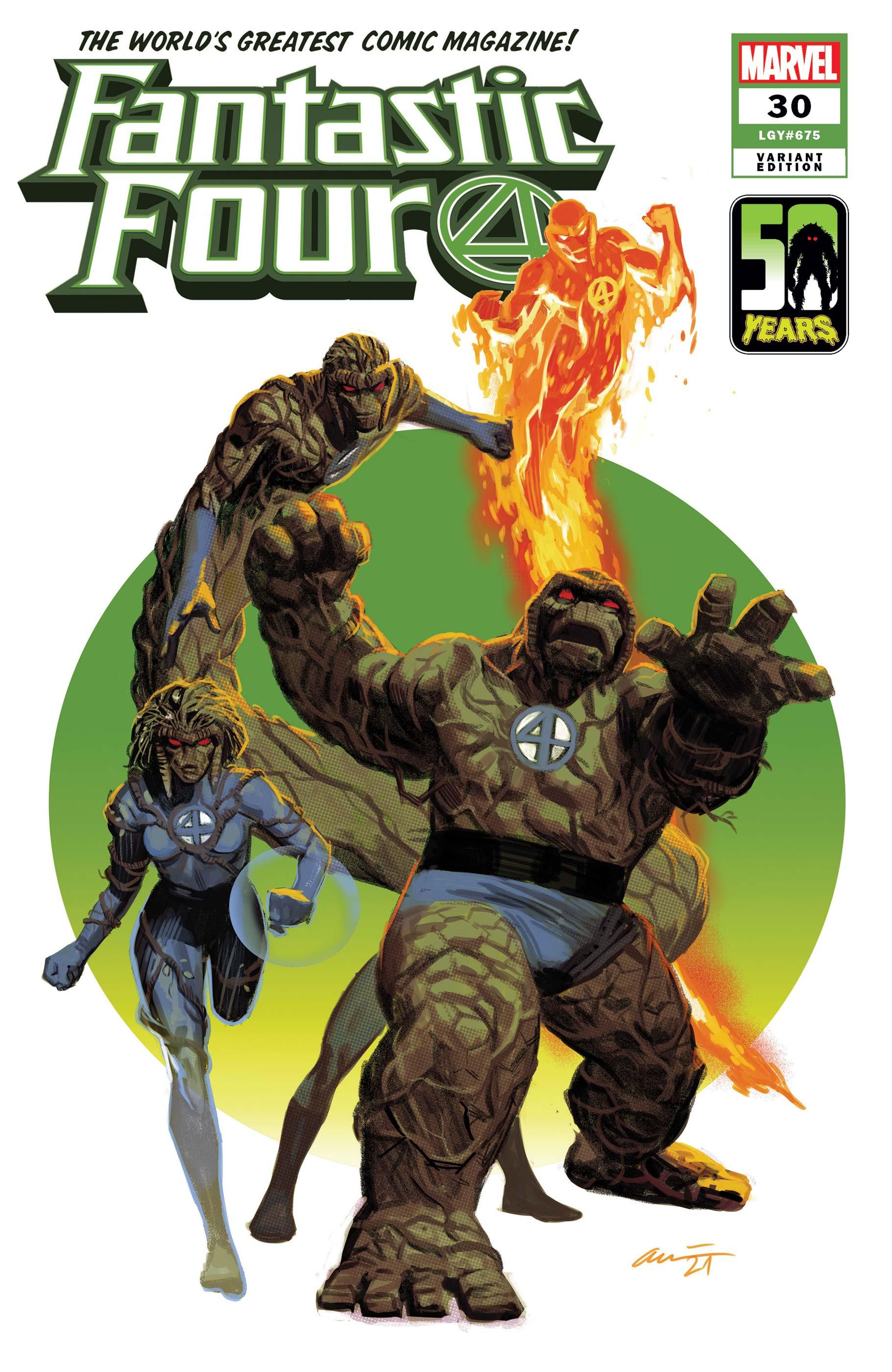 Fantastic Four (2018) #30 (Variant)