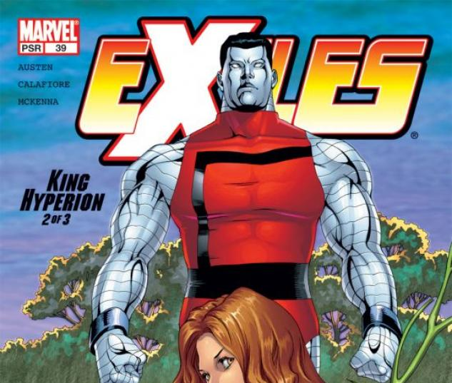 EXILES (2005) #39 COVER