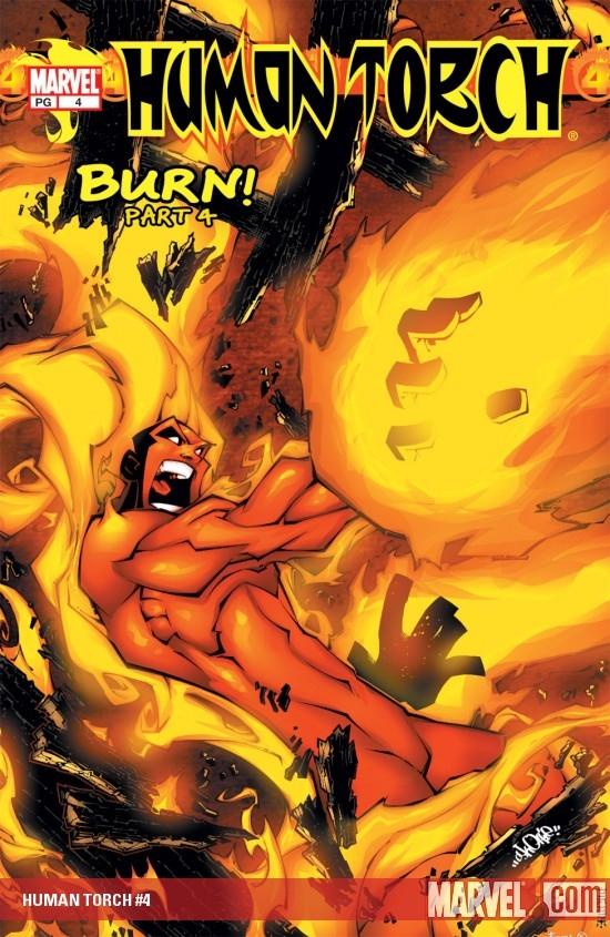 Human Torch (2003) #4