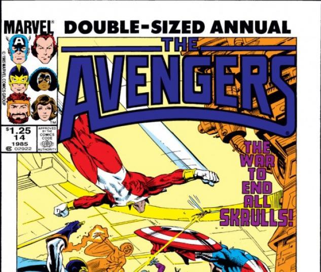 AVENGERS ANNUAL #14