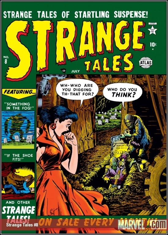 Strange Tales (1951) #8
